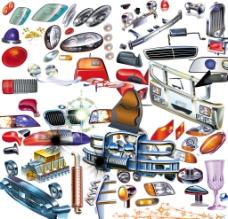 汽车配件素材图片