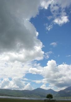 天空 草原图片