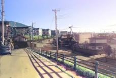 云之彼端 约束の场所 街景图片
