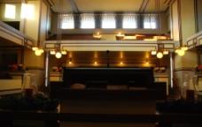 赖特建筑 United temple 室内图片