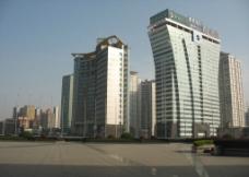 黄昏城市图片