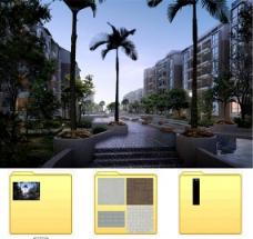 建筑效果图MAX源文件图片