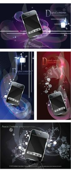 炫丽手机广告图片