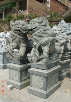 园雕动物图片