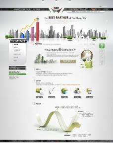 商业网站psd分层素材图片