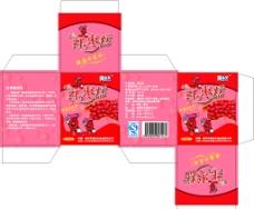 红枣糕盒子图片