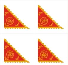 四神兽旗子图片