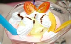 香芒冰岛雪糕图片