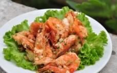 椒盐虾图片