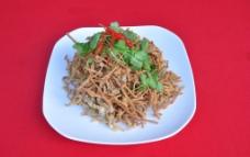 椒盐金针菇图片