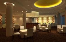 餐厅3d效果图图片