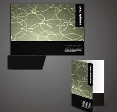 语音对话泡泡企业vi画册封面设计图片