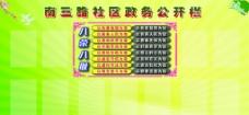 南三路社区政务公开栏图片