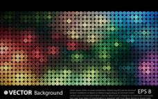 超酷炫彩矢量素材图片