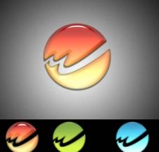 河流 W字形 logo图片