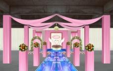 婚礼庆典舞台设计图片