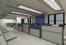 办公大厅室内图片