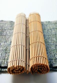 做寿司用的竹简图片