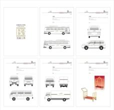 酒店VI应用部分 交通工具图片