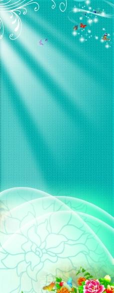 紫色花朵图片_背景素材_psd分层_图行天下图库