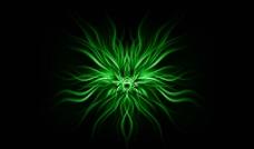 绿色幻想图片