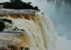依瓜苏大瀑布风景图片