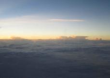 海南风光天边美云图片