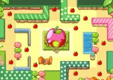 苹果小镇图片