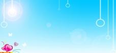 蓝天背景图片