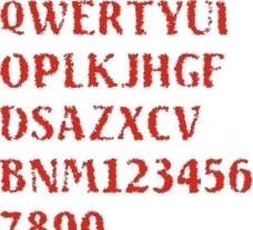 矢量艺术字 字母图片