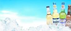 啤酒名片背景图图片