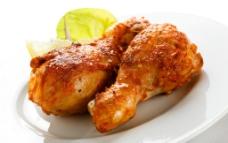 烤鸡腿图片