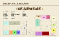 展厅区域图图片