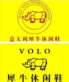 休闲鞋 标志 犀牛图片