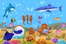 梦想海底世界图片