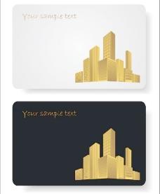 城市建筑卡片图片
