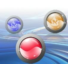 圆形图标按钮图片