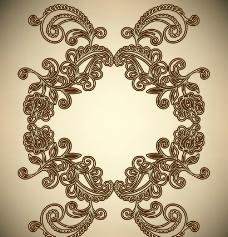 古典花纹花边框图片