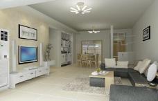 3d客厅模型图片