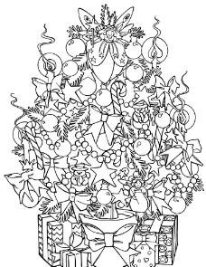 圣诞装饰图案图片