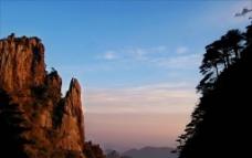 玉京峰 日落图片