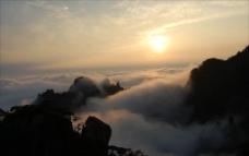 云海 日出图片