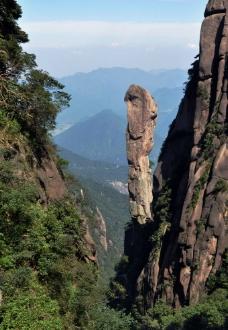 山隘奇石图片