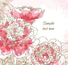 浪漫古典花纹梦幻花纹花朵图片