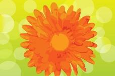 墨迹梦幻花纹花朵图片