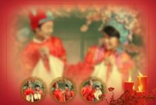 古装婚纱相册模版图片