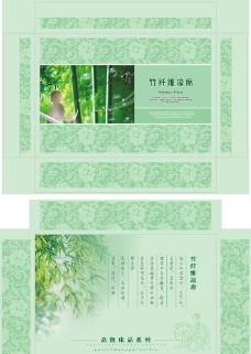 竹纤维凉席包装图片