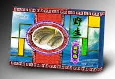 黄花鱼包装(展开图)图片