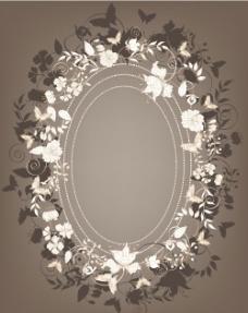 欧式花纹边框图片
