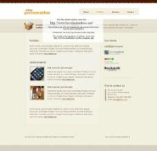 欧美网页模板图片